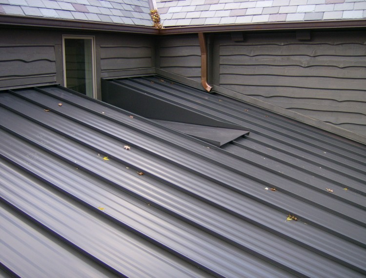 Standing Seam Factory Painted Kynar Steel