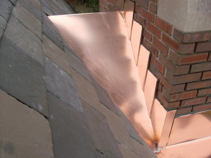 Custom Copper Chimney Saddles Or Quot Crickets Quot