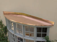 Custom Copper Work Copper Hoods Copper Barrel Dormers
